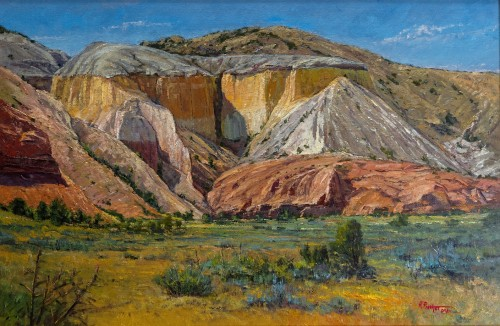 Rio Chama Bluff by Richard Prather