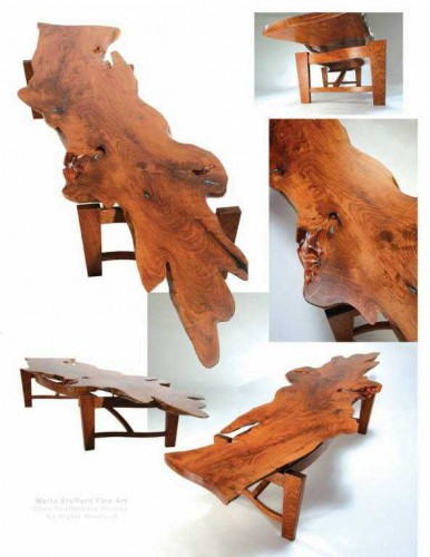 Mesquite Table by Lou Quallenberg