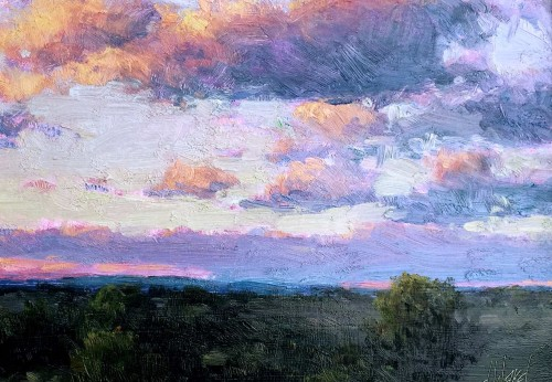Passing Clouds by Don Ward