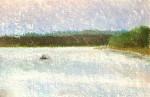 Lake DeGray, Evening Fishing #  by Mark Stewart