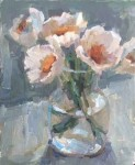 White Poppies #  by Clare Stratton