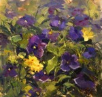 Pansies #  by Kaye Franklin