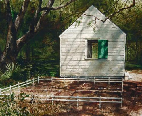 Garden Shadows by Mark Stewart