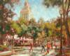 West Mall, University of Texas #  by Judy Gelfert
