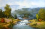 Rivers Bend #  by Milbie Benge