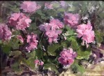 Piink Geranium #  by Kaye Franklin