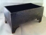 Large Footed Planter, Rectangular #  by Kathryn Rehfield