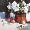 April Flowers and May Apples #  by Peggy Kingsbury