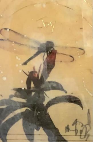 Dragonfly Joy by Sandra Currie