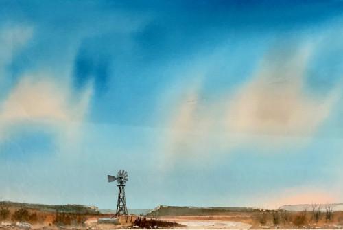 Creaking Windmill by Bill Worrell