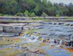 Cow Creek Falls #  by Bob Rohm