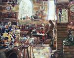 Pottery Shop #  by Judy Gelfert