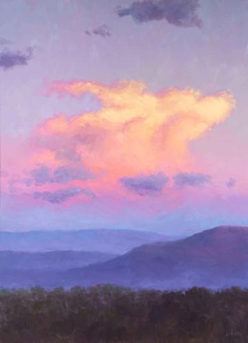 Softly at Sunset by Don Ward