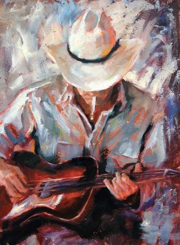 The Troubadour by Judy Gelfert