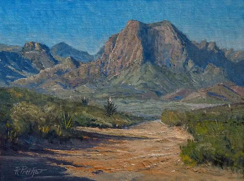 Big Bend Morning by Richard Prather