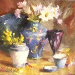 Blue and White Study #  by Mary Dolph Wood