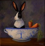 Hare in my Soup #  by Sandra Stevens
