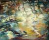 Bayou Reflection, Dusk by Ellen Hart