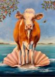 On the Half Shell #  by Sandra Stevens