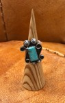 21-66, Royston Turquoise Ring,sz6 #  by Charles Wendt