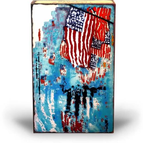American Heroes by Houston Llew