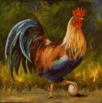 Pullet Surprise #2 #  by Sandra Stevens