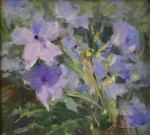 Mexican Petunias #  by Kaye Franklin