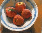 Four Peaches #  by Clare Stratton