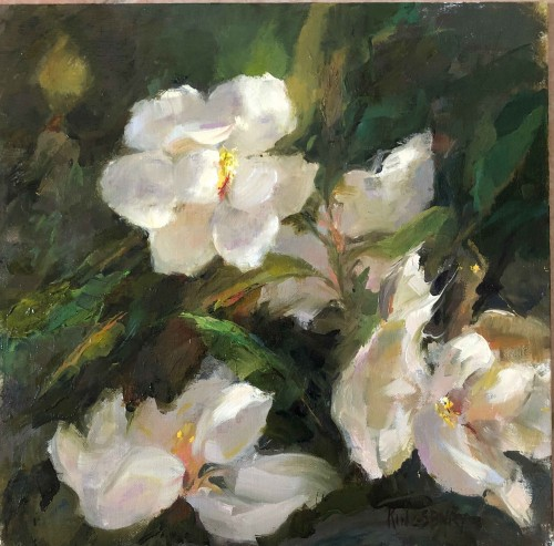 Magnolias by Peggy Kingsbury