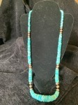 Sleeping Beauty and Navajo Pearls Necklace #  by Charles Wendt