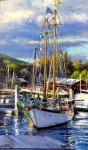 Camden Harbor #  by Mitch Caster