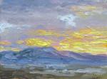 Sunset Mauve #  by Don Ward