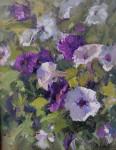 Petunias #  by Kaye Franklin