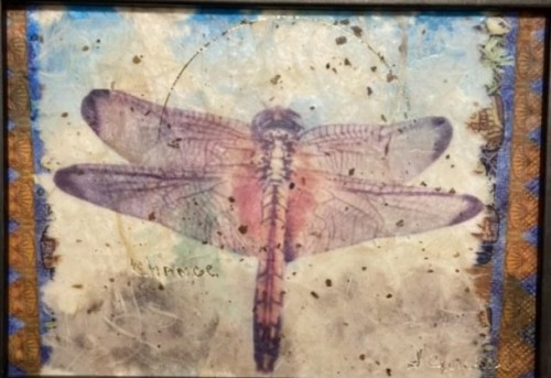 Change, Dragonfly by Sandra Currie