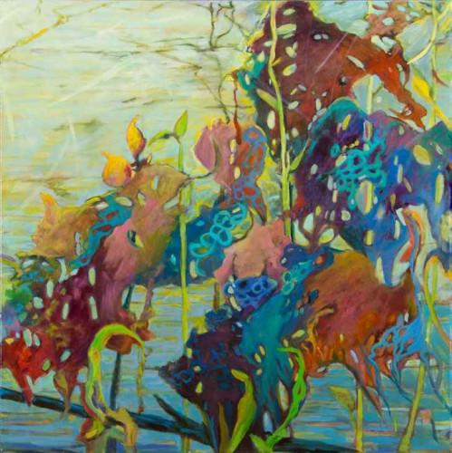 Marsh Rumble, III by Ellen Hart