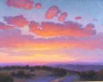 Sundown Over The Hills #  by Don Ward