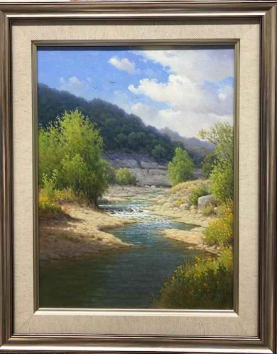 Early Summer Cow Creek by Jerry Ruthven