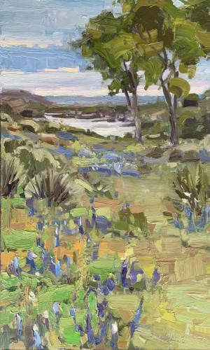 Bonnet Blue by Alison Menke