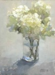 Hydrangea and Vase #  by Clare Stratton