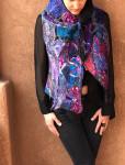 Mulit colored vest, #11 #  by Perla Kopeloff