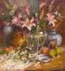 Arrangement with Lilies #  by