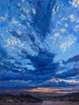 Arroyo Clouds #  by Richard Prather
