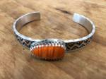 19-128 Spiny Oyster Bracelet #  by Charles Wendt