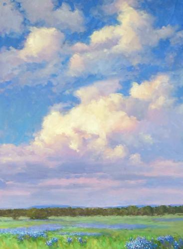 Spring Thunderhead by Don Ward