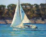Proud Sail #  by Bob Rohm
